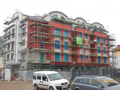 Styczeń 2018: budynek B