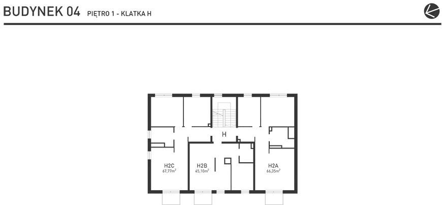 Projekt Wysoka - Budynek IV - Piętro 1