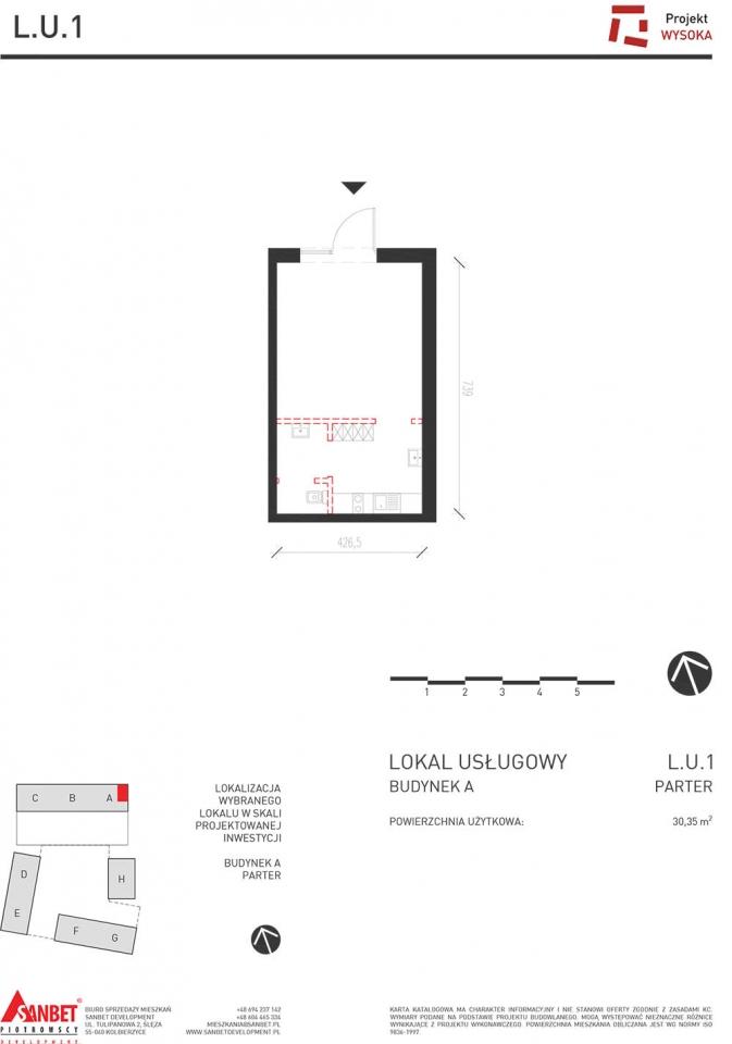 Lokal Usługowy L.U.1