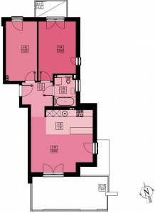 Mieszkanie nr. B3/0/1