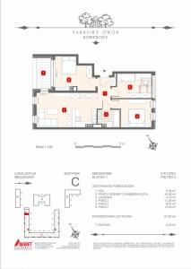 Mieszkanie nr. C-K1-2-M1