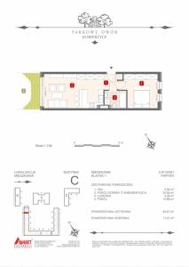 Mieszkanie nr. C-K1-0-M1