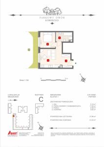Mieszkanie nr. C-K1-0-M2