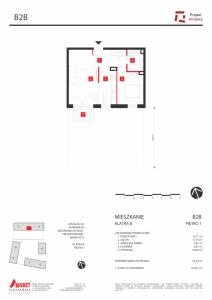 Mieszkanie nr. B2B