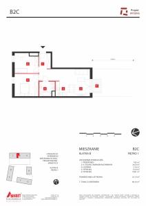 Mieszkanie nr. B2C