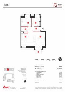 Mieszkanie nr. B3B