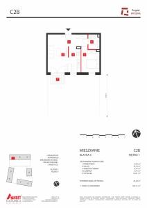 Mieszkanie nr. C2B