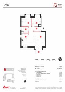 Mieszkanie nr. C3B