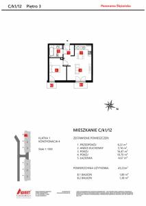 Mieszkanie nr. C/K1/12