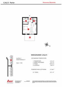 Mieszkanie nr. C/K2/3