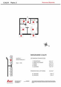 Mieszkanie nr. C/K2/9