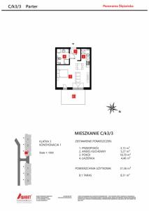Mieszkanie nr. C/K3/3