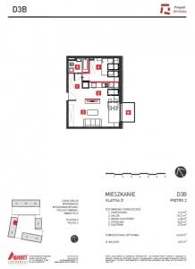 Mieszkanie nr. D3B