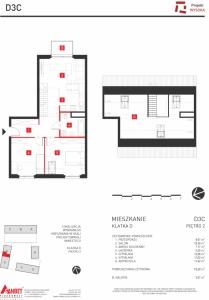 Mieszkanie nr. D3C