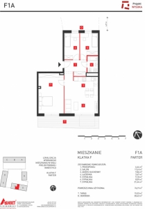 Mieszkanie nr. F1A