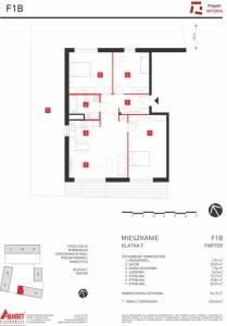 Mieszkanie nr. F1B