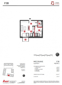 Mieszkanie nr. F3B