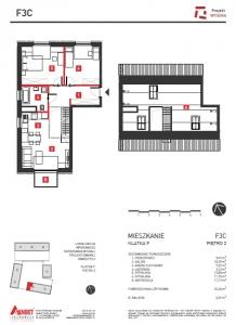 Mieszkanie nr. F3C