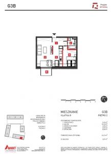 Mieszkanie nr. G3B