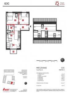 Mieszkanie nr. G3C