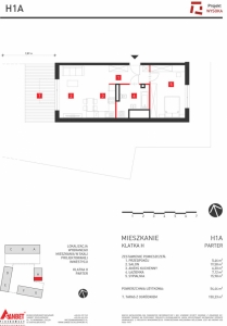 Mieszkanie nr. H1A
