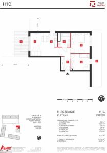 Mieszkanie nr. H1C