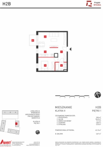 Mieszkanie nr. H2B