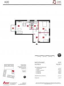 Mieszkanie nr. H2C