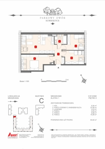 Mieszkanie nr. C-K1-2-M2