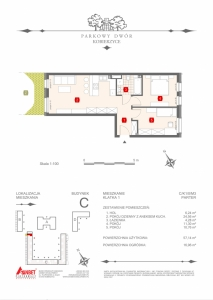 Mieszkanie nr. C-K1-0-M3