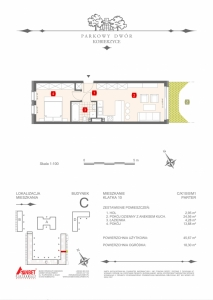 Mieszkanie nr. C-K10-0-M1