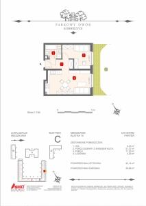 Mieszkanie nr. C-K10-0-M2