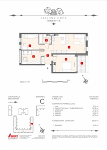 Mieszkanie nr. C-K10-2-M2