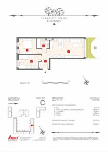 Mieszkanie nr. C-K10-0-M3