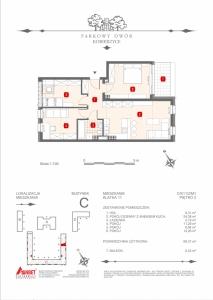 Mieszkanie nr. C-K11-2-M1