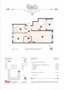 Mieszkanie nr. C-K12-2-M1