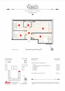 Mieszkanie nr. C-K12-2-M2