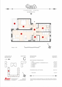 Mieszkanie nr. C-K2-2-M1