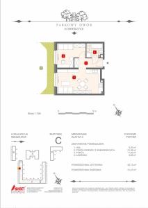 Mieszkanie nr. C-K2-0-M2