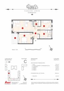 Mieszkanie nr. C-K2-2-M2