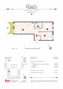 Mieszkanie nr. C-K2-0-M3