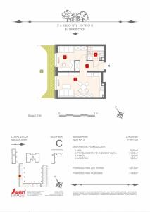 Mieszkanie nr. C-K3-0-M2