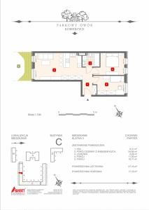 Mieszkanie nr. C-K3-0-M3