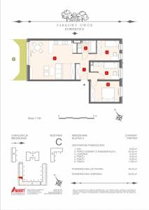 Mieszkanie nr. C-K4-0-M1