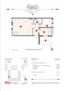 Mieszkanie nr. C-K4-2-M1
