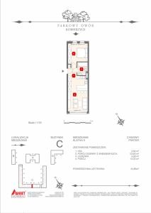 Mieszkanie nr. C-K6-0-M1
