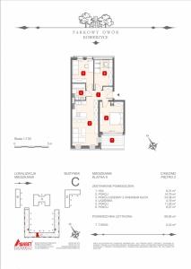 Mieszkanie nr. C-K6-2-M2