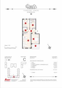 Mieszkanie nr. C-K7-2-M1