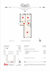 Mieszkanie nr. C-K7-0-M2