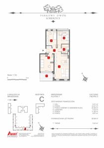 Mieszkanie nr. C-K7-2-M2